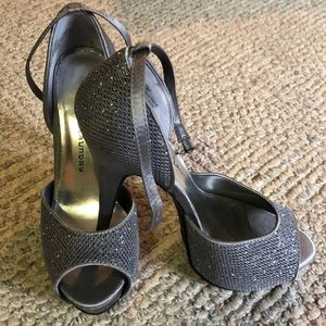 Chinese Laundry glitter heels